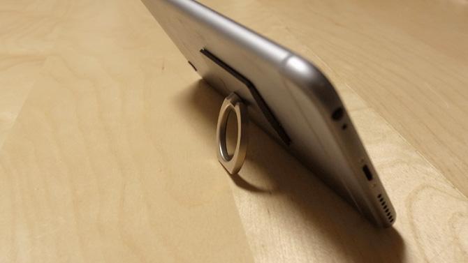 iPhone 6 PlusにiRingを利用