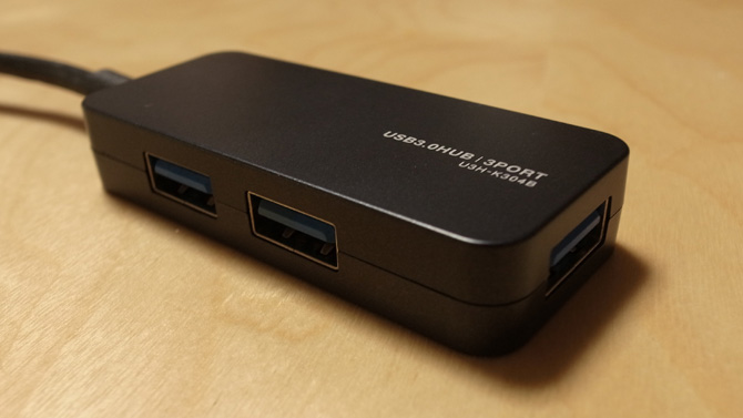 USBハブ U3H-K304B
